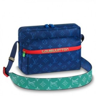 Louis Vuitton Messenger PM Monogram Pacific M43829