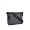 Louis Vuitton Mick Medium Messenger Shoulder Bag in Damier Graphite Canvas N40004 bag