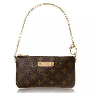Louis Vuitton Milla Clutch MM Bag Monogram Canvas M60094 bag