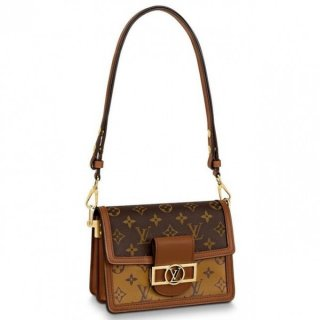 Louis Vuitton Mini Dauphine Bag Monogram Reverse M44580 bag