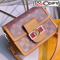 Louis Vuitton Mini Dauphine Monogram Pop Print Shoulder Bag M55454 Red