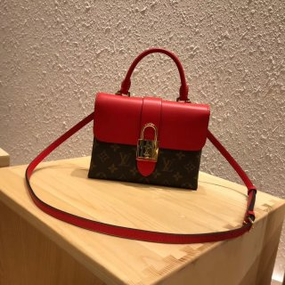 Louis Vuitton Monogram Canvas and Leather Locky BB Bag M44322 Coquelicot bag