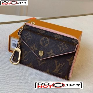 Louis Vuitton Monogram Canvas Card Holder Recto Verso Wallet M69431 Light Pink