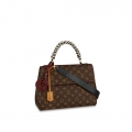 Louis Vuitton Monogram Canvas Cluny MM Braided Top Handle Bag M44669 bag