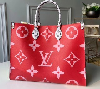 Louis Vuitton Monogram Canvas Onthego Tote Bag M44569 Rouge bag