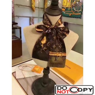 Louis Vuitton MONOGRAM CONFIDENTIAL Bandeau Coffee
