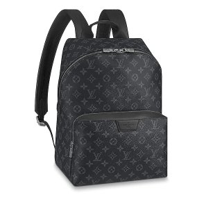 Louis Vuitton Monogram Eclipse Coated Canvas Apollo Backpack M43186 bag