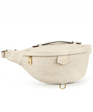 Louis Vuitton Monogram Empreinte Bumbag M44812 Cream bag