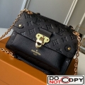 Louis Vuitton Monogram Empreinte Leather Vavin BB Shoulder Bag M44550 Black bag