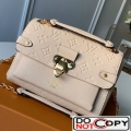 Louis Vuitton Monogram Empreinte Leather Vavin BB Shoulder Bag M44553 Cream White bag