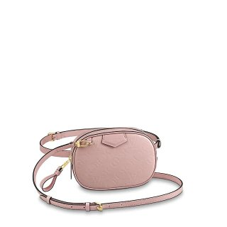 Louis Vuitton Monogram Patent Leather Belt Bag M90531 Pink bag