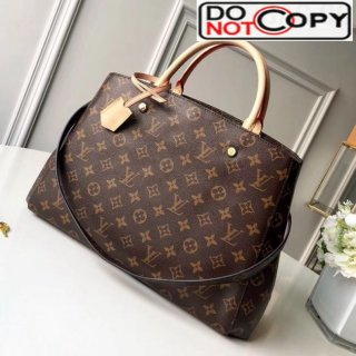 Louis Vuitton Montaigne GM Monogram Canvas Top Handle Bag M41067 bag