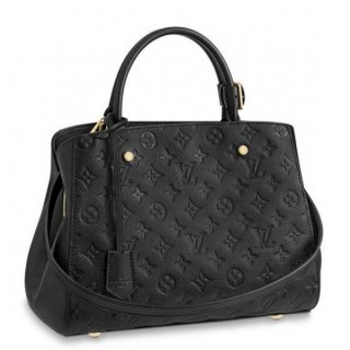 Louis Vuitton Montaigne MM Bag Monogram Empreinte M41048 bag