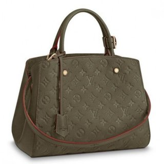 Louis Vuitton Montaigne MM Bag Monogram Empreinte M43660 bag