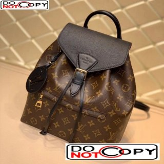 Louis Vuitton Montsouris Backpack in Monogram Canvas M45501 Black bag