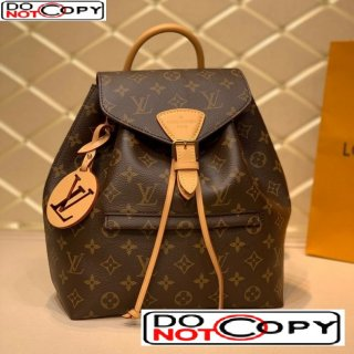 Louis Vuitton Montsouris Backpack in Monogram Canvas M45501 Nude bag