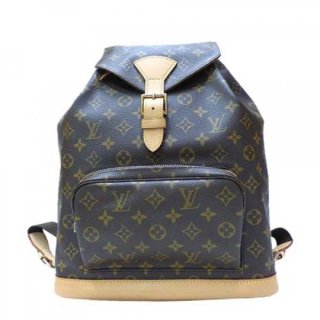 Louis Vuitton Montsouris GM Backpack Monogram M51135 bag