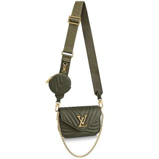 Louis Vuitton Multi Pochette New Wave Mini Bag M56471 Green bag