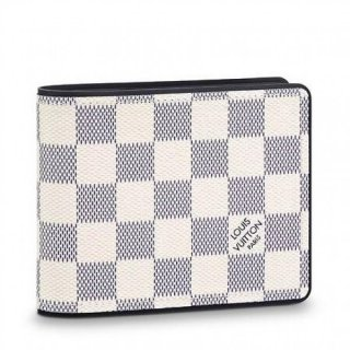 Louis Vuitton Multiple Wallet Damier Coastline N60121