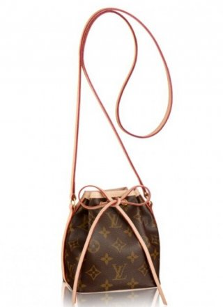 Louis Vuitton Nano Noe Bag Monogram Canvas M41346 bag