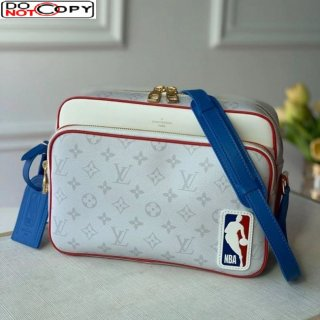Louis Vuitton NBA Nil Messenger Bag White Monogram Canvas M85143 Bag