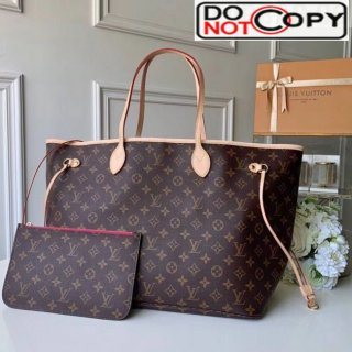 Louis Vuitton Neverfull GM Monogram Canvas Tote Bag M41180 Hot Pink bag
