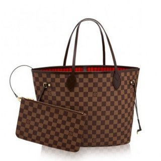 Louis Vuitton Neverfull MM Bag Damier Ebene N41358 bag