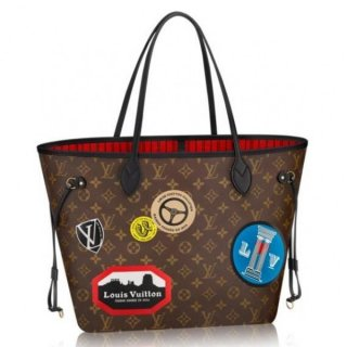Louis Vuitton Neverfull MM Bag Monogram World Tour M42844 bag