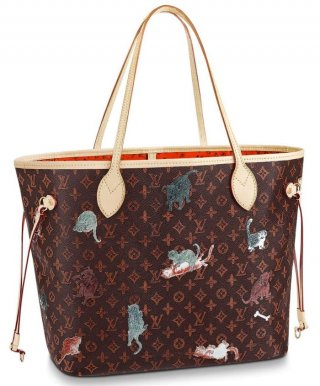 Louis Vuitton Neverfull MM M44441 Brown bag