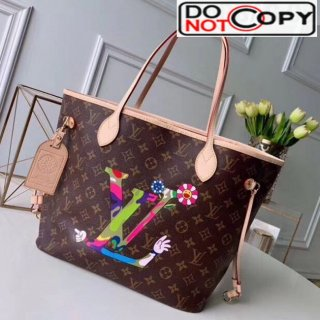 Louis Vuitton Neverfull MM Monogram Canvas Printed LV Tote Bag M50710 bag