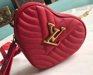 Louis Vuitton New Wave Heart Bag M53769 Red bag