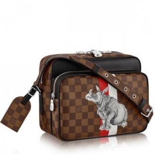 Louis Vuitton Nil PM Bag Damier Ebene N42704