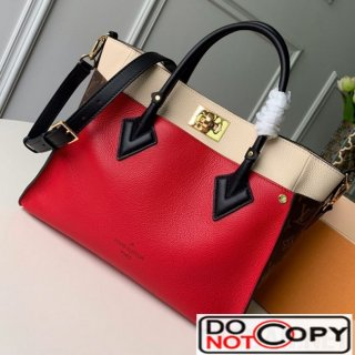 Louis Vuitton On My Side Tote Bag M53823 M53824 Red bag