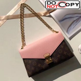 Louis Vuitton Pallas Chain Monogram Canvas Shoulder Bag M41200 Pink bag