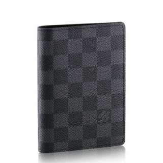 Louis Vuitton Passport Cover Damier Graphite N60031