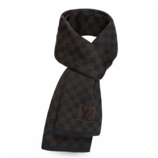 Louis Vuitton Petit Damier Ebene Scarf NM M74199