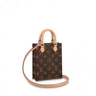 Louis Vuitton Petit Sac Plat Mini Tote Bag in Monogram Canvas M694421 Bag