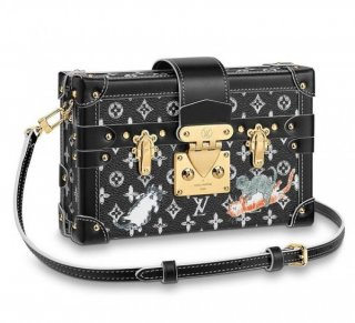 Louis Vuitton Petite Malle Bag Catogram M44437 bag