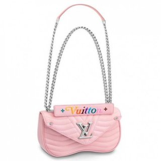 Louis Vuitton Pink New Wave Chain Bag MM M51944 bag