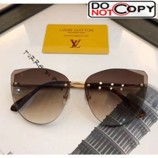 Louis Vuitton Plein Soleil Pilot Sunglasses Z1317E 144