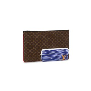 Louis Vuitton Pochette A4 Multipocket Pouch M69690 Monogram Canvas bag
