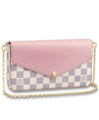Louis Vuitton Pochette Felicie N60235 Pink bag
