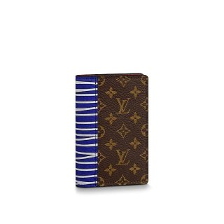 Louis Vuitton Pocket Organizer in Monogram Canvas and Epi Leather M69701