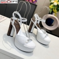 Louis Vuitton Podium Platform Sandal White