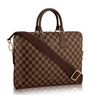 Louis Vuitton Porte Documents Jour Damier Ebene N42242