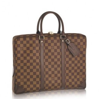 Louis Vuitton Porte Documents Voyage Damier Ebene N41124 bag