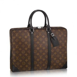 Louis Vuitton Porte Documents Voyage Monogram Macassar M40225 bag