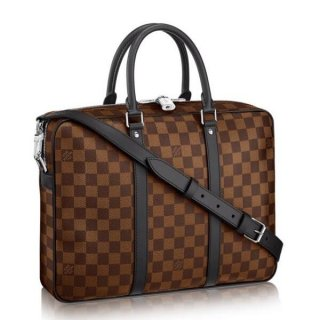 Louis Vuitton Porte Documents Voyage PM Damier Ebene N41466 bag