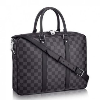 Louis Vuitton Porte Documents Voyage PM Damier Graphite N41478 bag