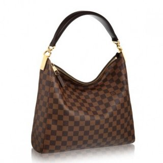 Louis Vuitton Portobello PM Bag Damier Ebene N41184 bag